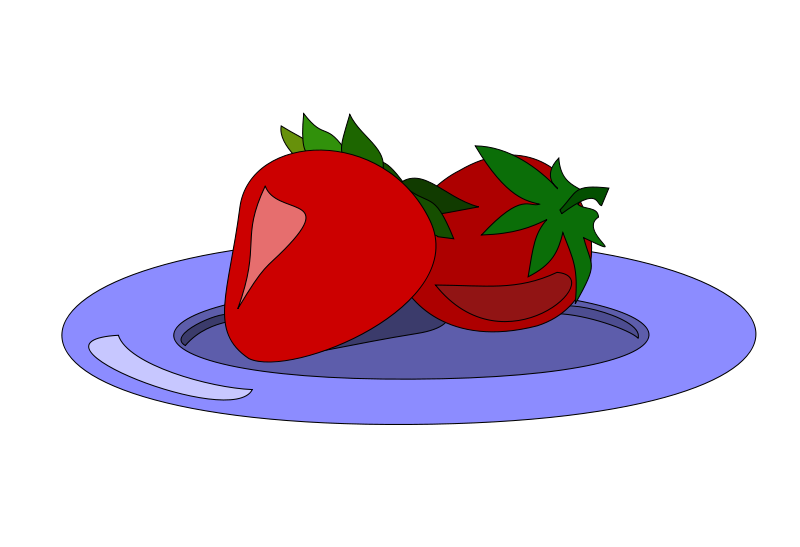 Clipart fruit fruit plate, Clipart fruit fruit plate.