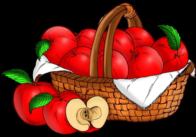 A Basket Of Apples.