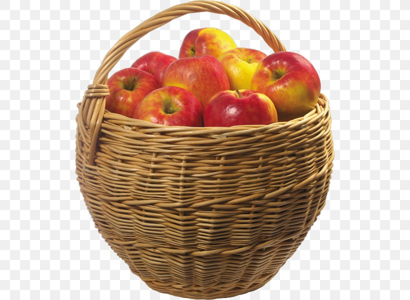 Basket Of Apples Clip Art, PNG, 520x600px, Basket Of Apples.