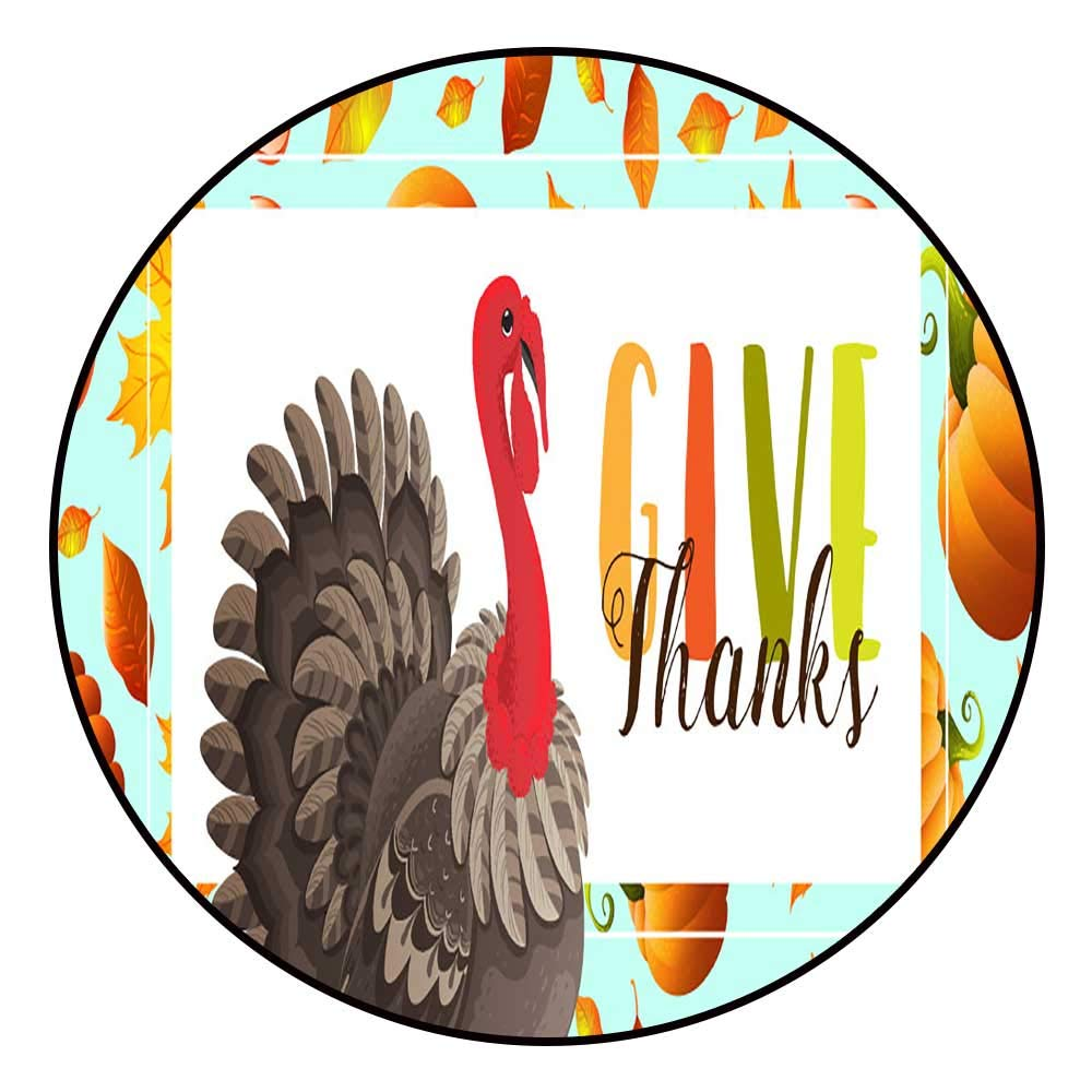 Amazon.com: Bath Mats for floorsThanksgiving Banner with.