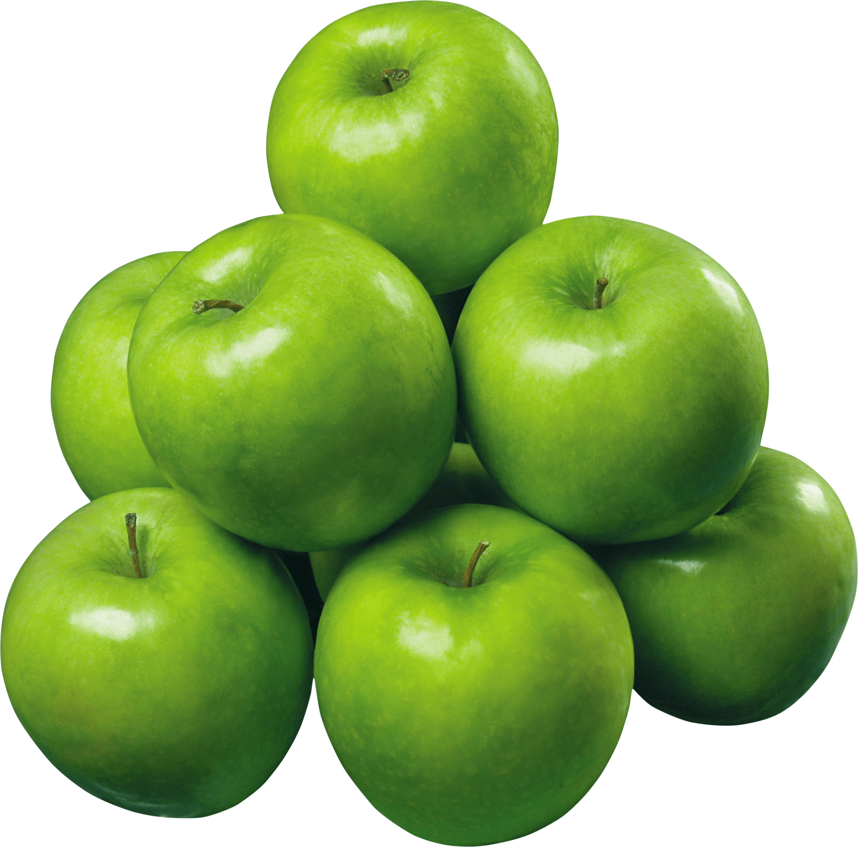 Apple Green Pile transparent PNG.