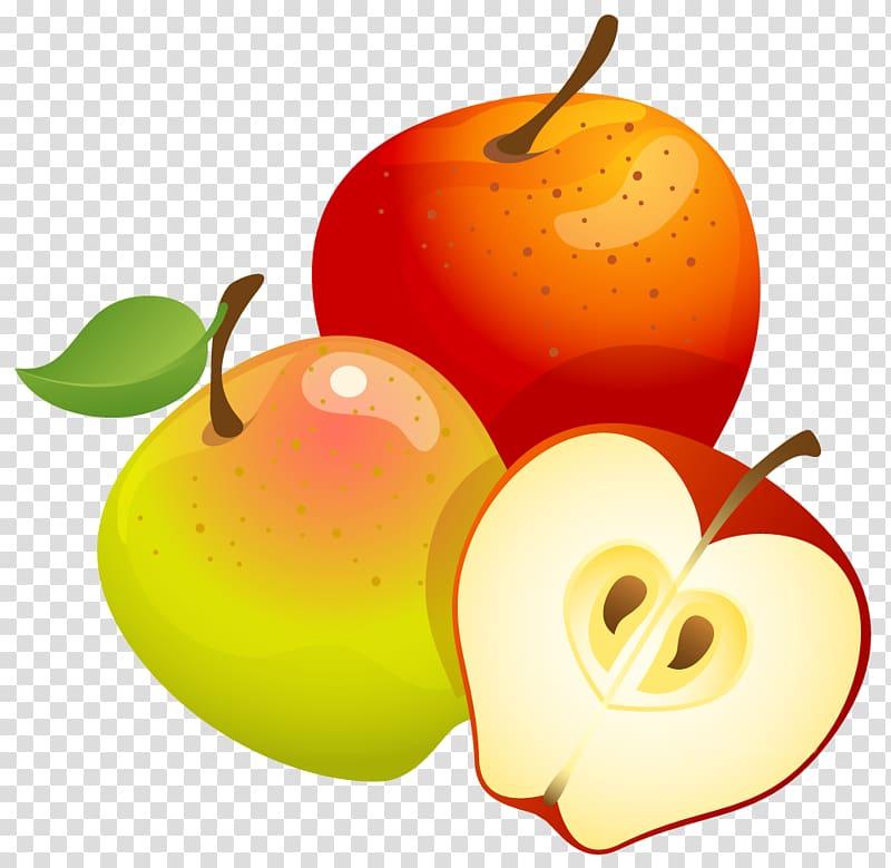 Apples , Fruit tree Euclidean , Large Painted Apples.