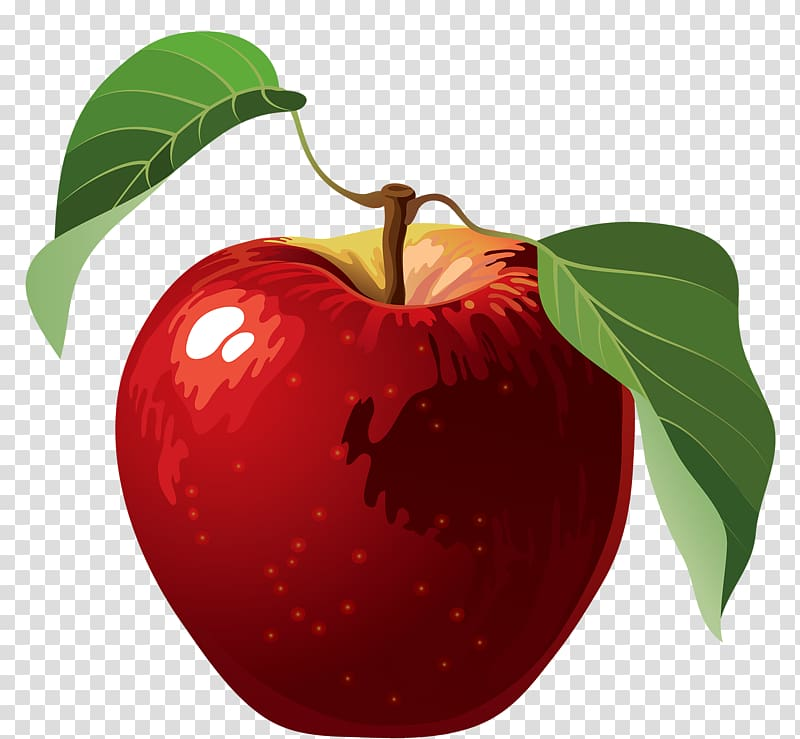 Apples , Red Apple transparent background PNG clipart.