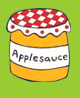 Apple sauce clip art.
