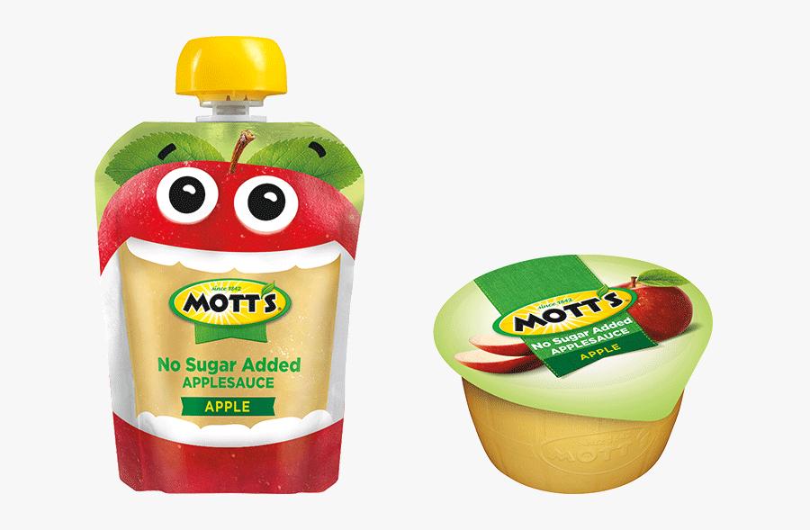 Motts Applesauce Pouch , Free Transparent Clipart.