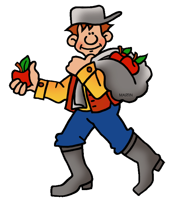 Johnny Appleseed Clipart at GetDrawings.com.