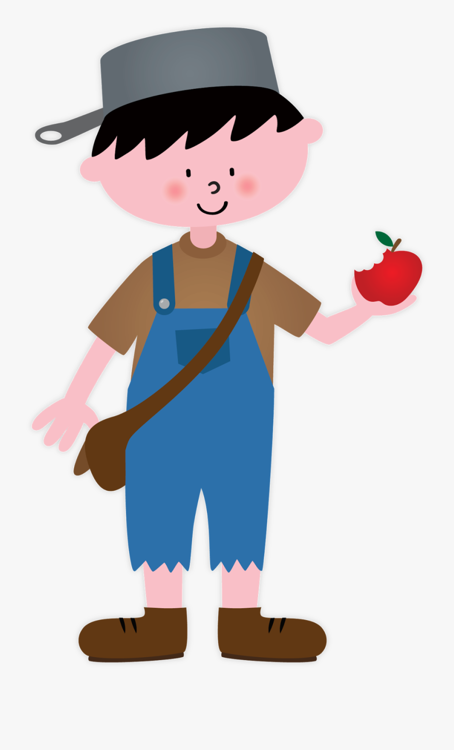 Clip Art Johnny Appleseed , Free Transparent Clipart.