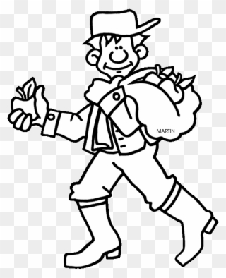 Free PNG Johnny Appleseed Clip Art Download.