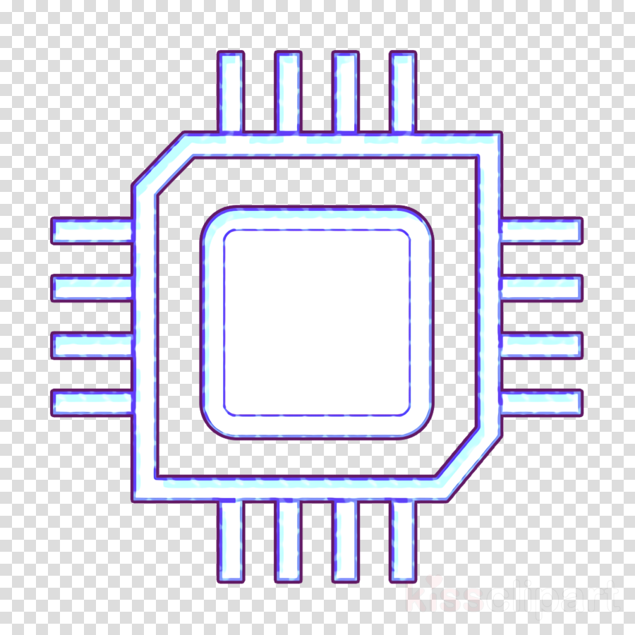 applet icon chip icon cpu icon clipart.