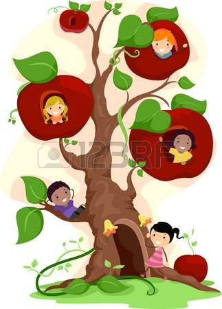 13,887 Apple Tree Stock Illustrations, Cliparts And Royalty Free.