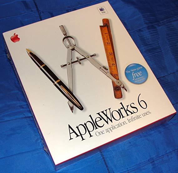 AppleWorks 6.2.4 Mac.
