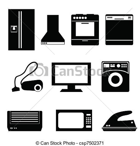 Small Appliance Clipart.
