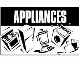 Appliance Clip Art.