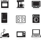 Kitchen appliances Clip Art Illustrations. 11,753 kitchen.
