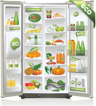 Refrigerator clipart free vector download (3,105 Free vector.