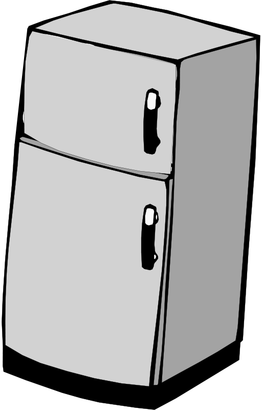 Free Clipart: Refrigerator.