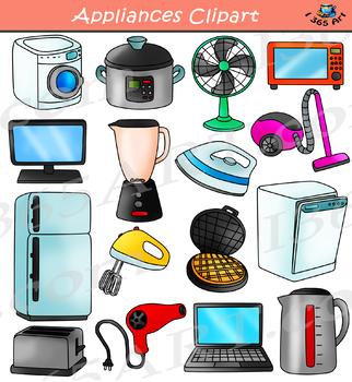 Appliances Clipart.