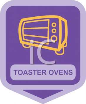 Royalty Free Clip Art Image: Small Appliance Icon.
