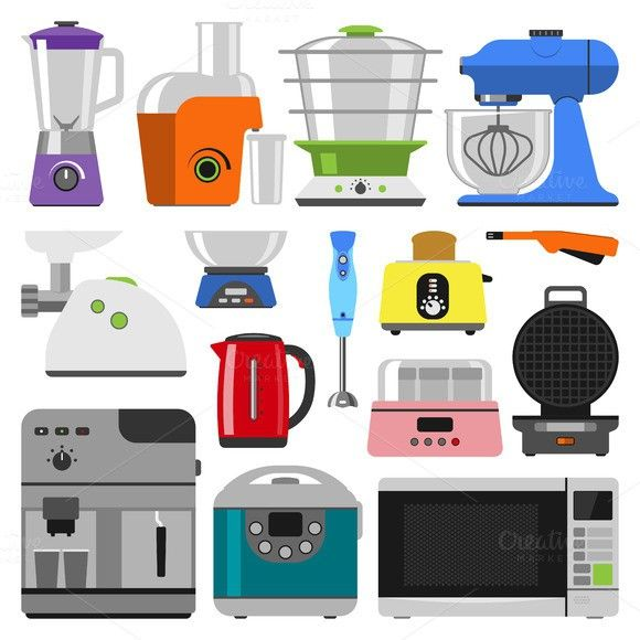 Home appliances vector. Infographic Templates. $5.00.