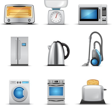 Small Kitchen Appliance Icons
