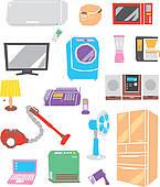 Appliances Clip Art and Illustration. 23,402 appliances clipart.