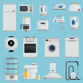 Appliances Vectors, Photos and PSD files.