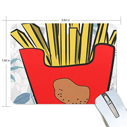 Amazon.com : Mouse Pads, French Fries Clipart Premium.