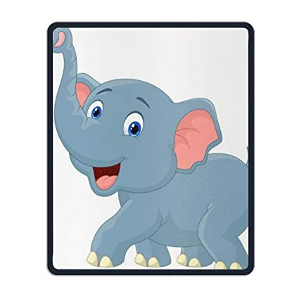 Amazon.com : Vector Clipart Elephant Mouse Pads with Design.