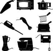 Kitchen appliance clipart.