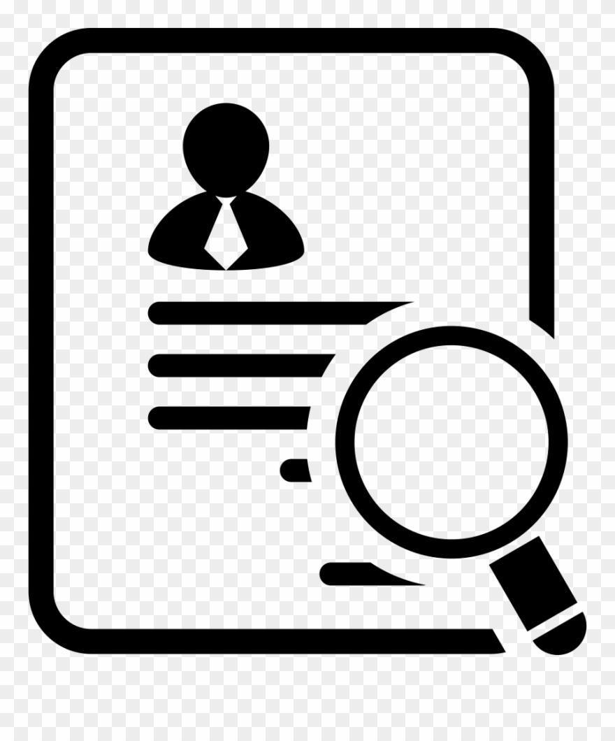 Job Application Icon Clipart (#402851).