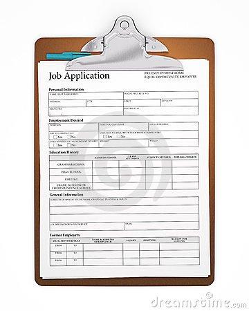Job Application Clipart.