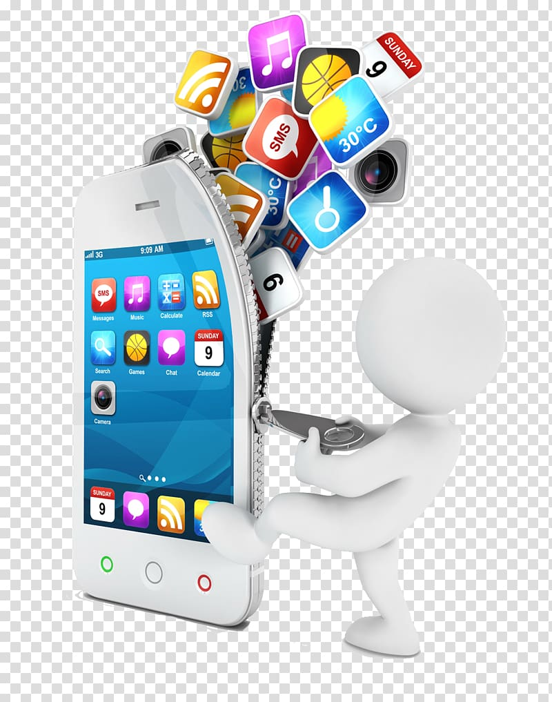 Mobile app development Application software iOS Android.