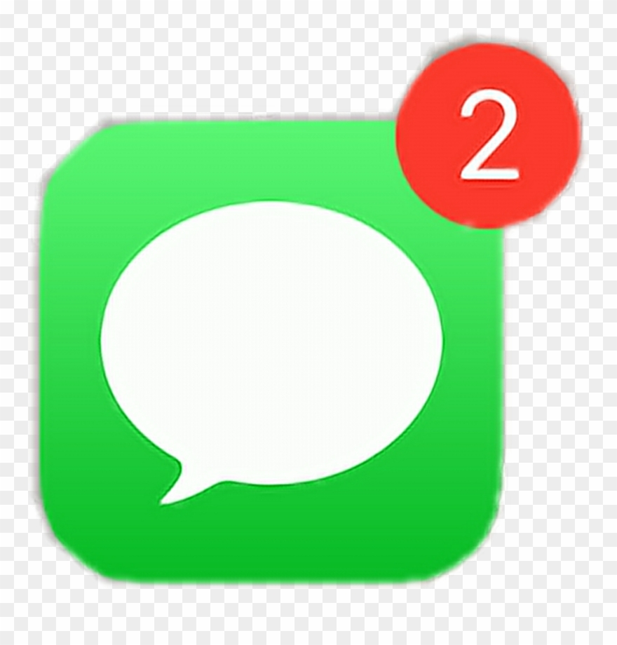 Messages App Notification Iphone Freetoedit.