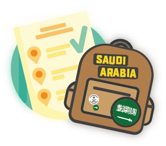 Saudi Arabia Visa Application Form.