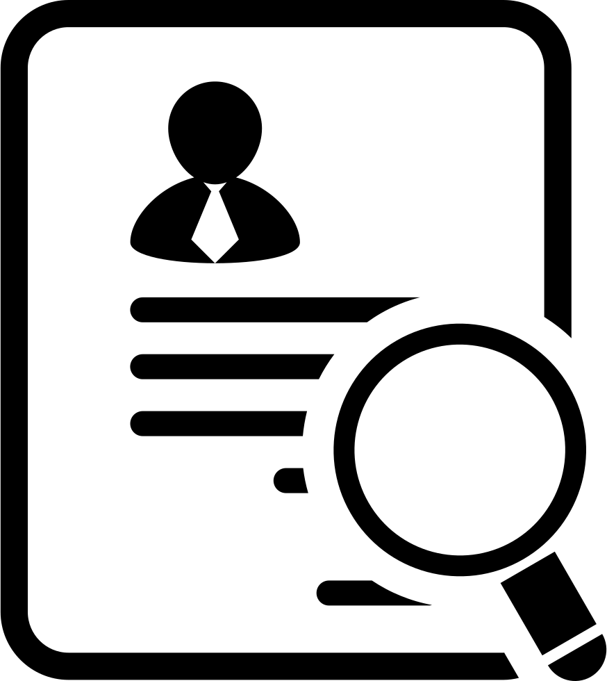 Businessman Paper Of The Application For A Job Svg Png Icon Free.