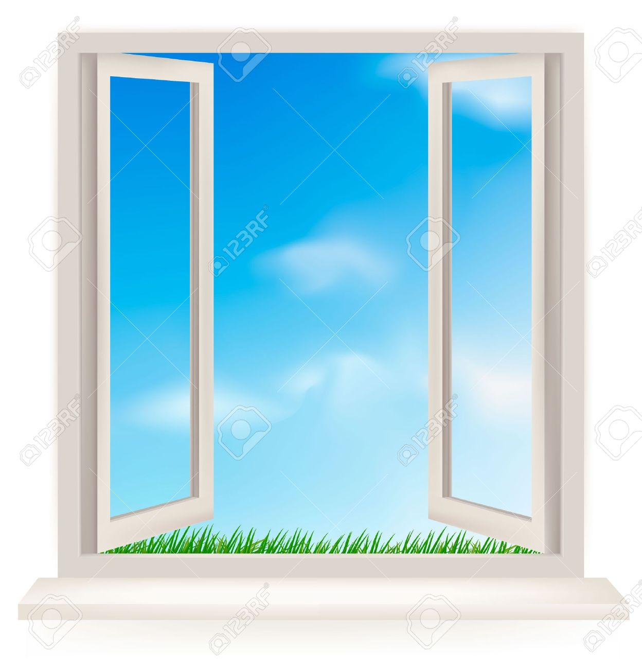Free window clipart.