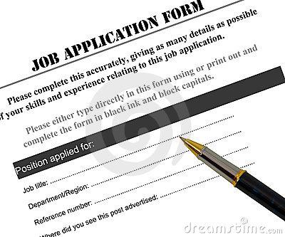 Clip Art Job Application Clipart.