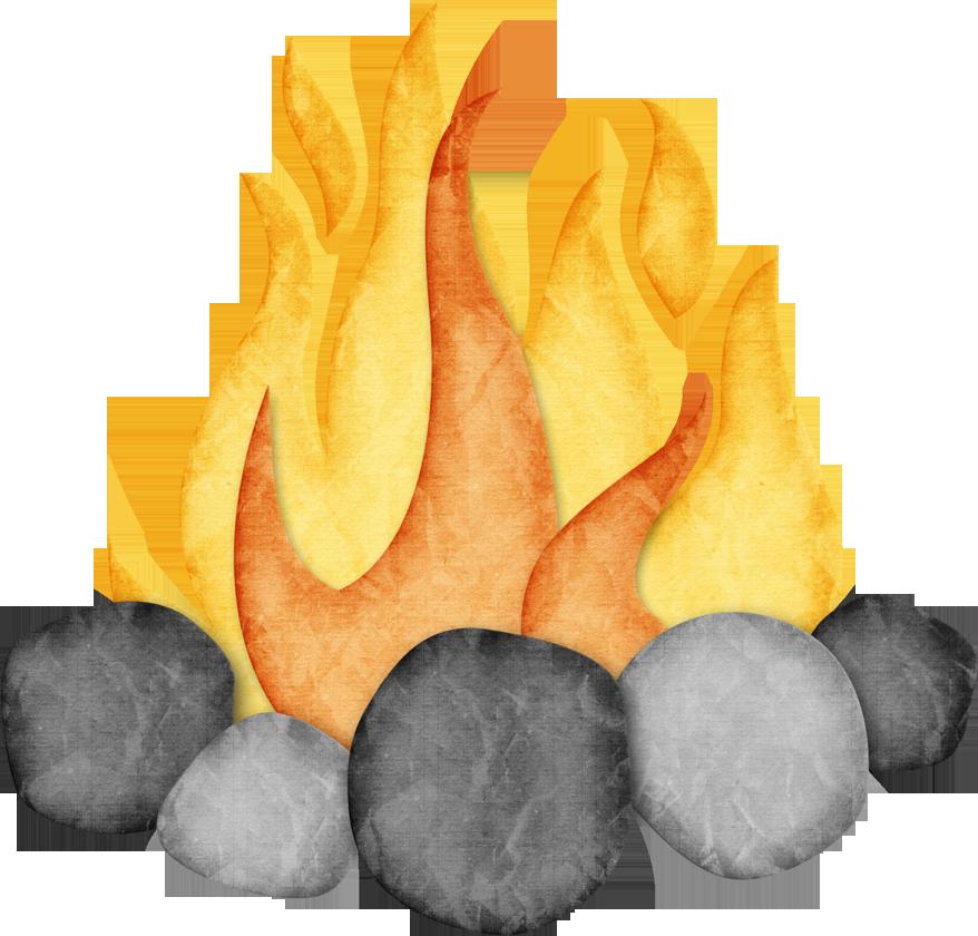 Campfire clipart applique reverie kids.