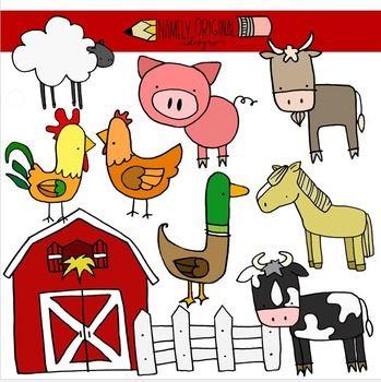 Farm Animal Clipart.