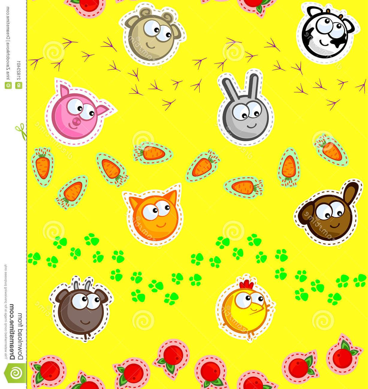 Best Farm Animal Applique Vector File Free » Free Vector Art.