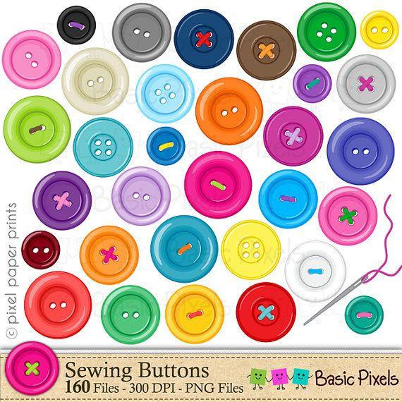 Button clipart.