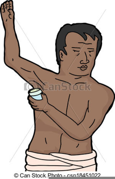 Boy Putting On Deodorant Png & Free Boy Putting On Deodorant.
