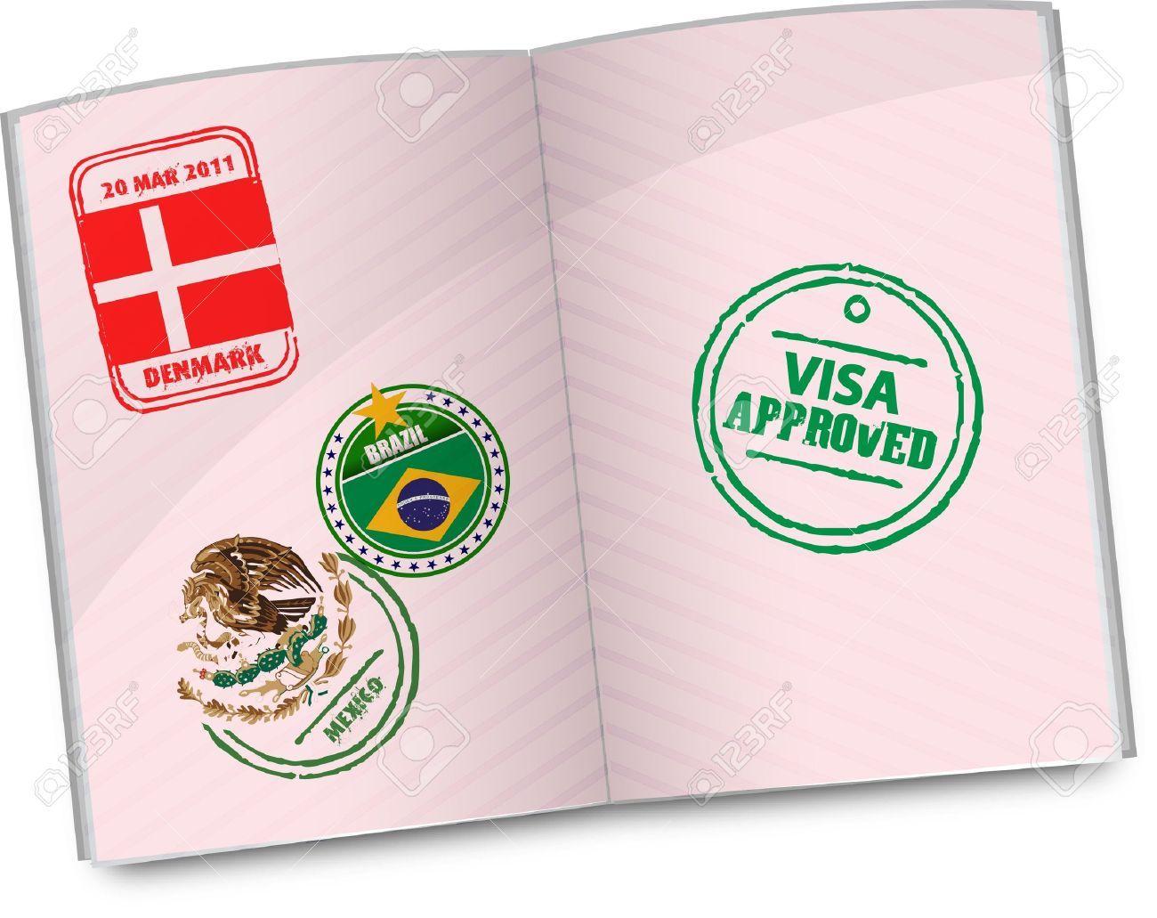 Passport Clip Art.