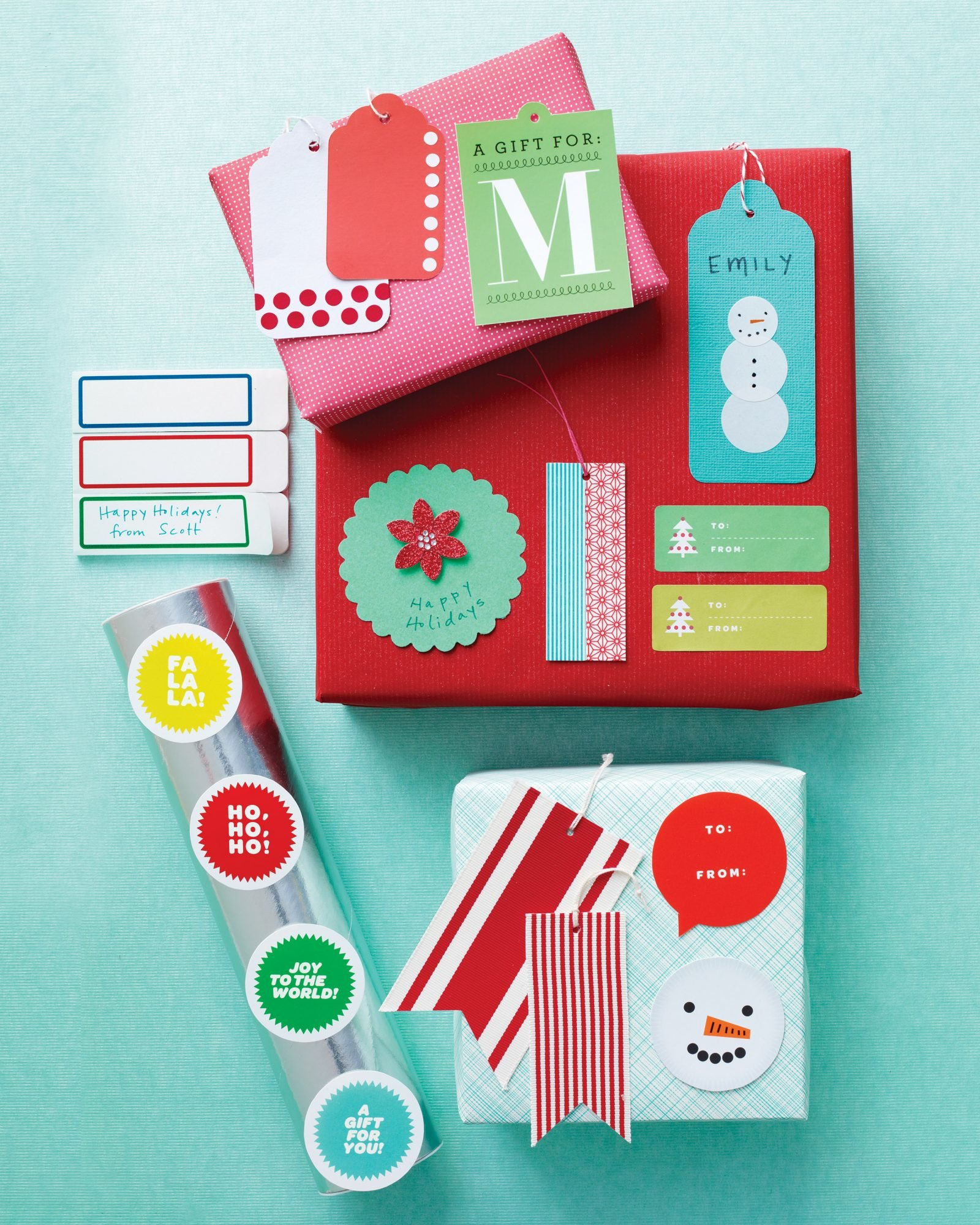 The Holiday Gift Tags, Labels, and Clip.