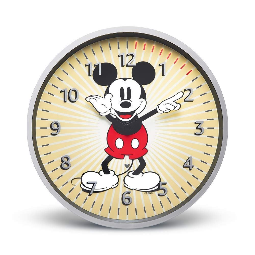 Here\'s a Mickey Mouse version of Amazon\'s Echo Wall Clock.