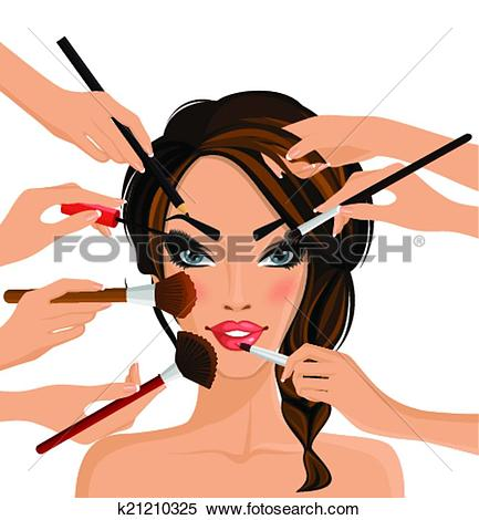 Clip Art of professional make.