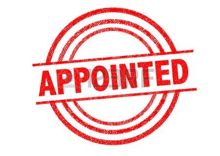 Appointed clipart.