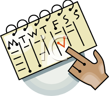 Free Appointment Calendar Clipart.