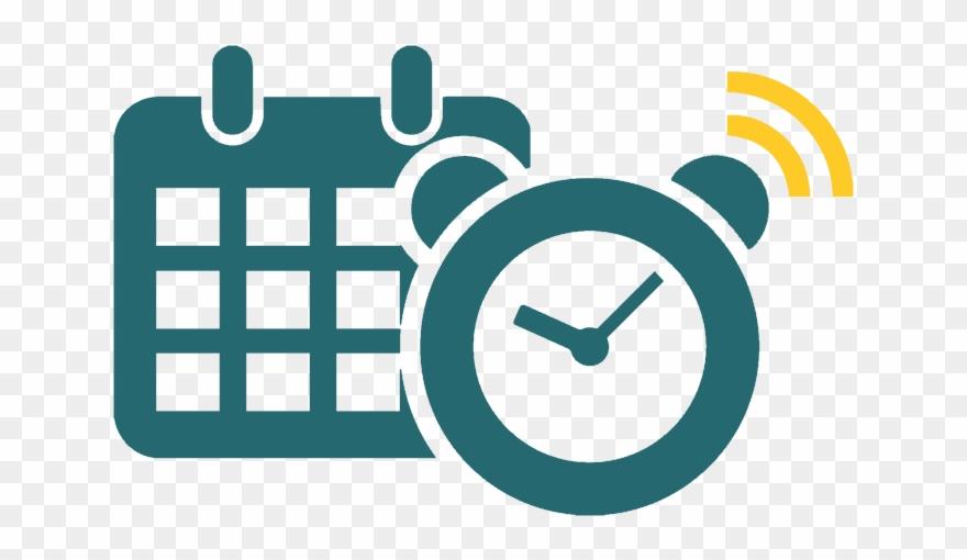 Calendar And Clock Image.