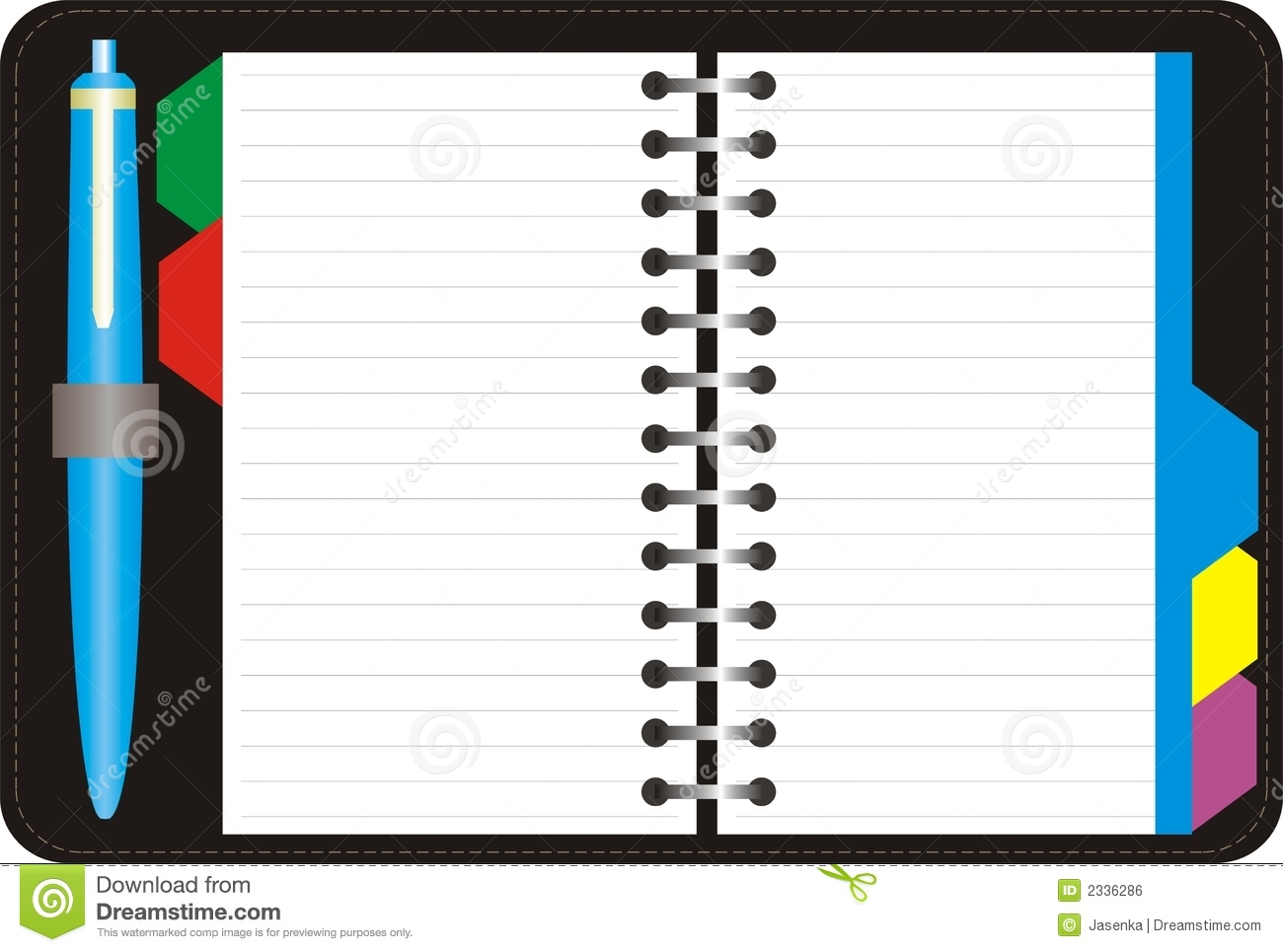 Appointment book clipart.